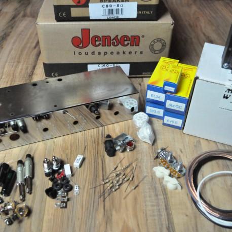 Two Stroke tube Amplifier Kit with Jensen Speakers