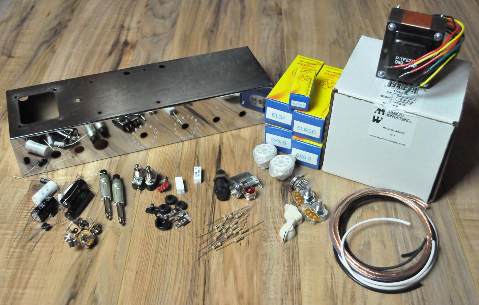 tube amp kit two stroke diy guitar amplifier without speakers. Black Bedroom Furniture Sets. Home Design Ideas