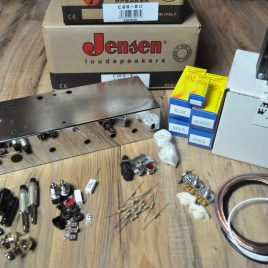 Two Stroke tube Amplifier Kit with Jensen Speakers