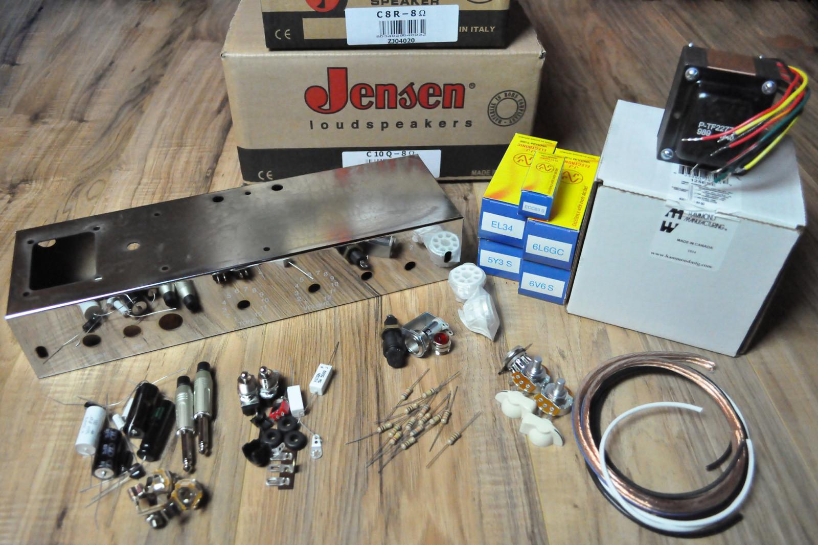 tube amplifier kit two stroke diy guitar amplifier. Black Bedroom Furniture Sets. Home Design Ideas